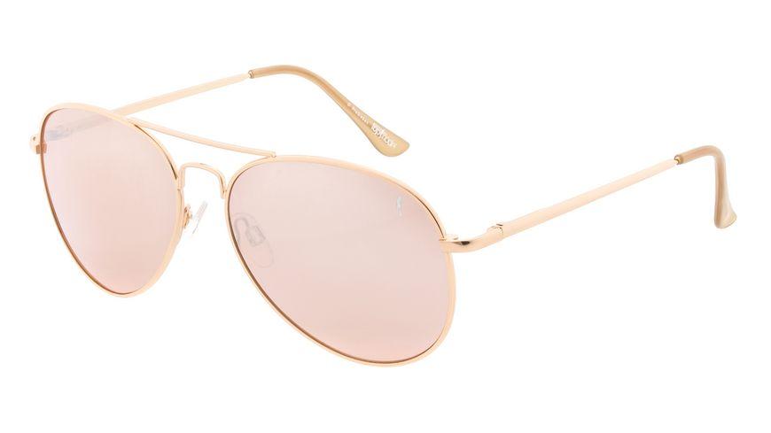 GNTM Pilot Sonnenbrille rosegold