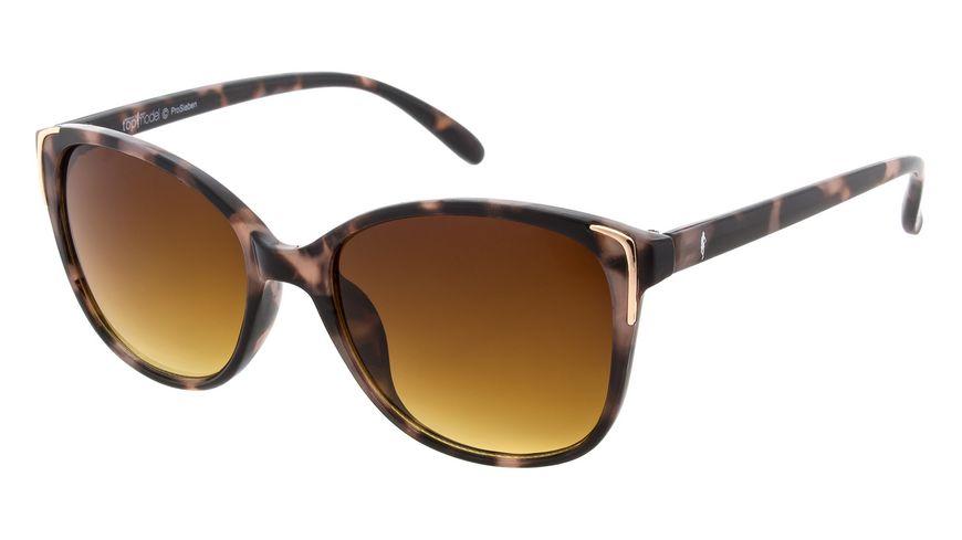 GNTM Sonnenbrille mit braunen Verlaufsglaesern