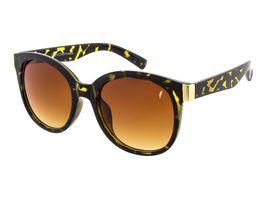 GNTM Sonnenbrille Havanna mit braunen Verlaufsglaesern