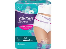 Always Discreet Hoeschen Plus Groesse L