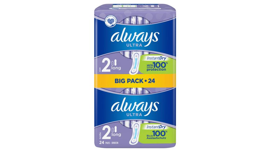 always Ultra Binde Long BigPack 24 Stueck