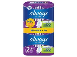 always Ultra Binde Long mit Fluegeln BigPack 22 Stueck