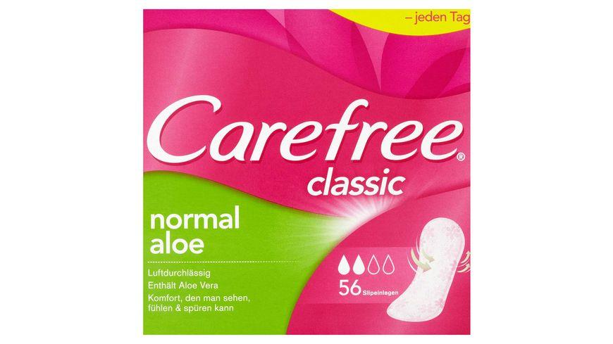 Carefree classic normal aloe Slipeinlagen 56 Stueck
