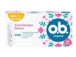 o b Tampons Original Normal 16 Stueck