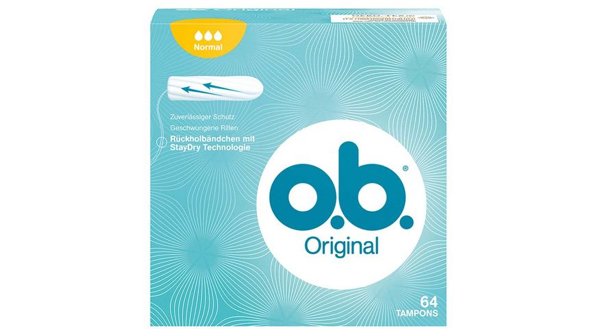 o b Tampons Original Normal 64 Stueck