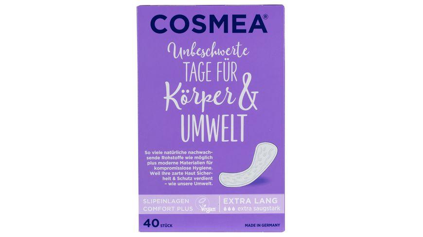 Cosmea Slipeinlagen Extra Lang 40 Stueck