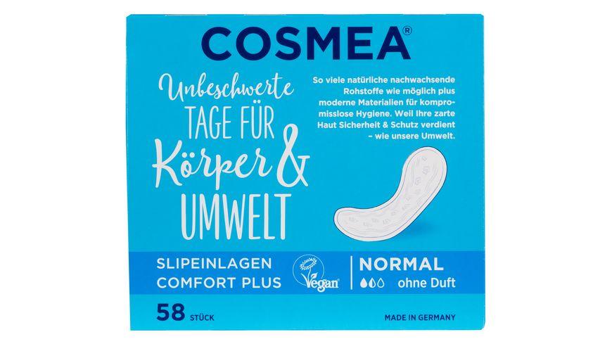 Cosmea Slipeinlagen Normal ohne Duft 58 Stueck