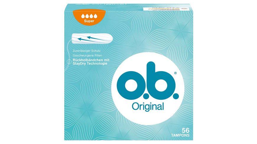 o b Tampons Original Super 56 Stueck