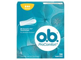 o b Tampons ProComfort Normal 56 Stueck