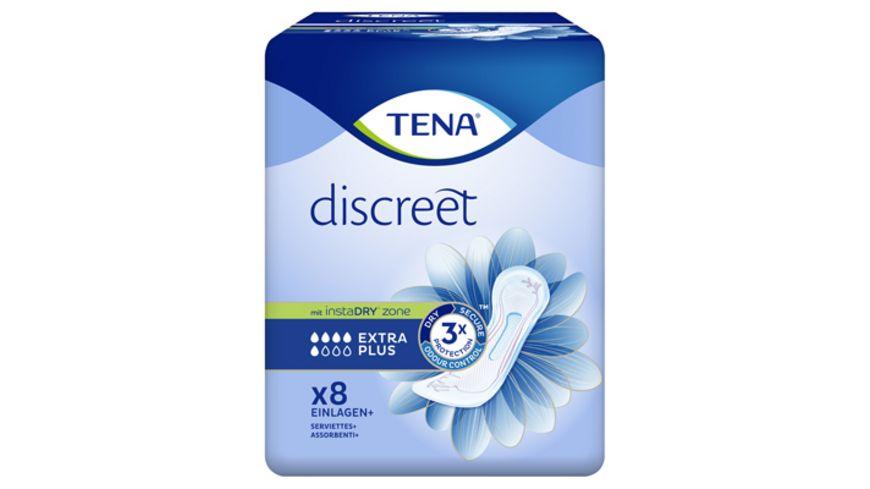 TENA Discreet EXTRA Plus Hygieneeinlagen 8 Stück