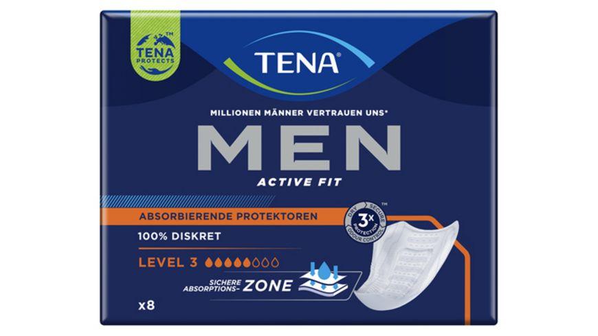 TENA FOR MEN Level 3 Hygieneeinlagen 8 Stueck