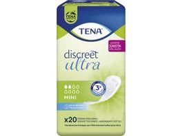 TENA LADY Discreet Mini Hygieneeinlagen 20 Stueck