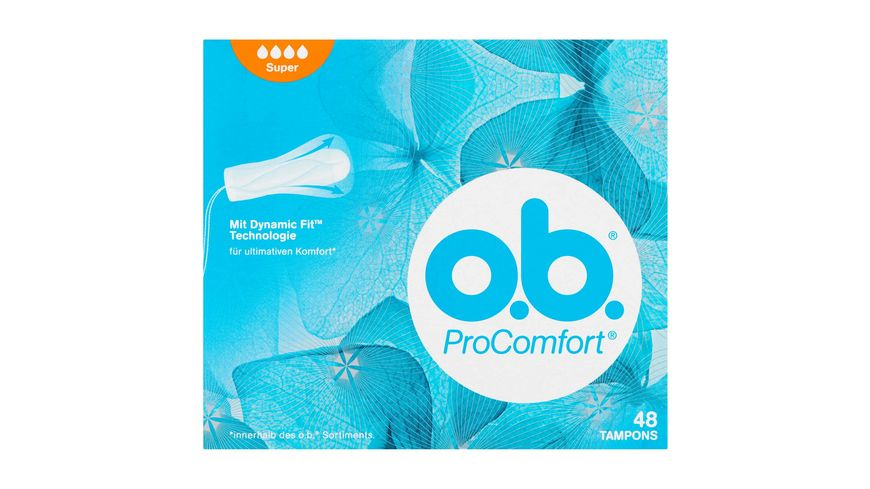 o b Tampons ProComfort Super 48 Stueck