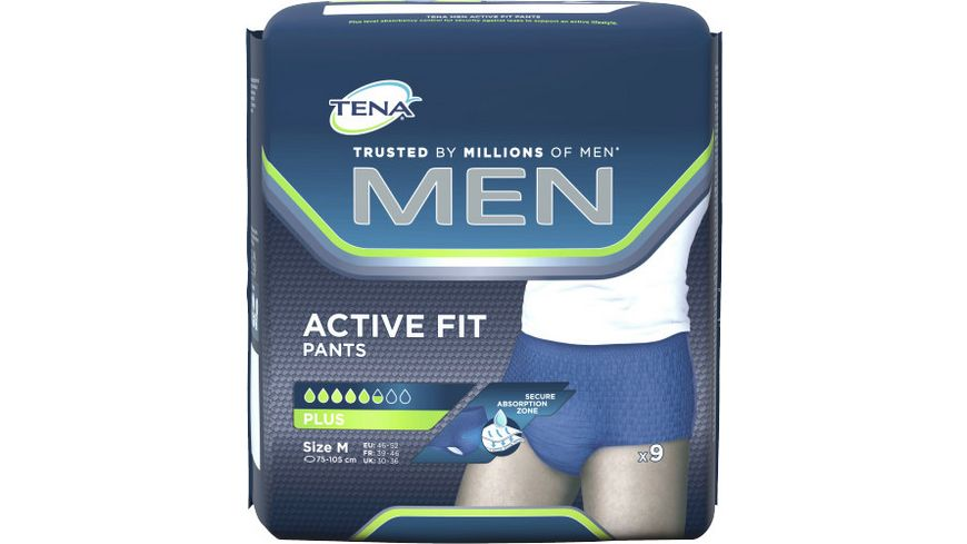 TENA MEN Pants Plus Medium 9 Stueck