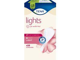 TENA Slipeinlagen Lights Discreet 28 Stueck