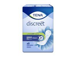 TENA Discreet Maxi Hygieneeinlagen 6 Stueck