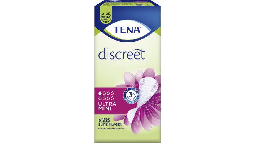 TENA LADY Ultra Mini Hygieneeinlagen 28 Stueck