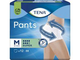 TENA PANTS SUPER MEDIUM 12 PANTS