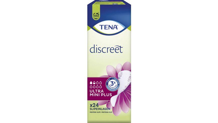TENA LADY Ultra Mini Plus Hygieneeinlagen 24 Stück