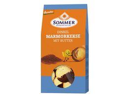 SOMMER Demeter Dinkel Marmor Kekse