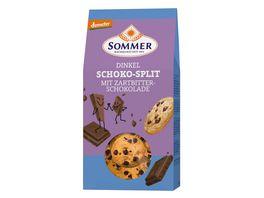 SOMMER Demeter Dinkel Schoko Split Zartbitter