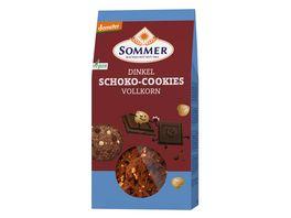 SOMMER Dinkel Schoko Cookies Vollkorn
