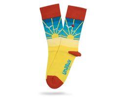 Unabux Socke Sunrise Unisex