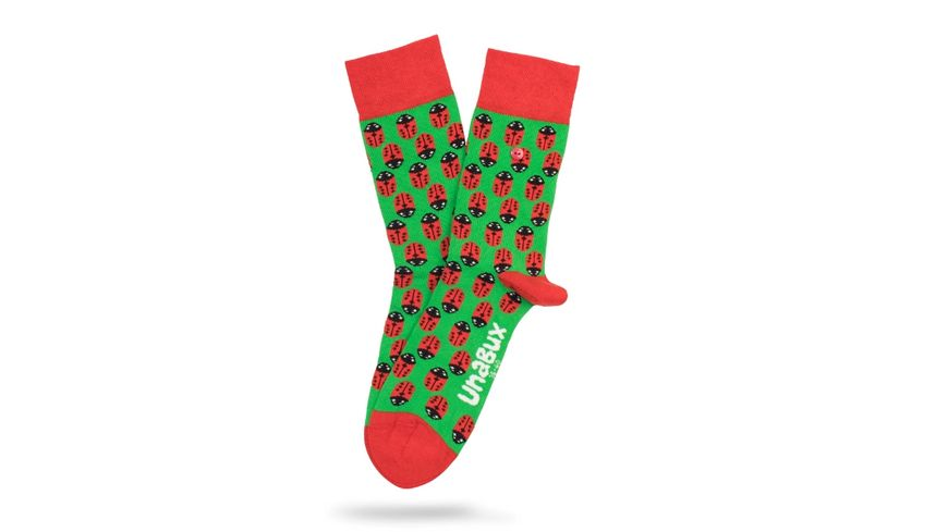Unabux Socke Ladybug Unisex