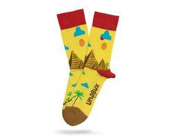 Unabux Socke Egypt Unisex