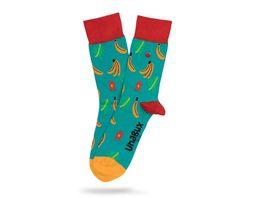 Unabux Socke Banana Unisex