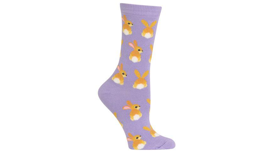 HOTSOX Damen Socken Bunnies
