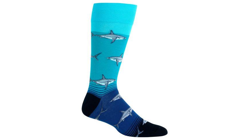 HOTSOX Herren Socken Sharks
