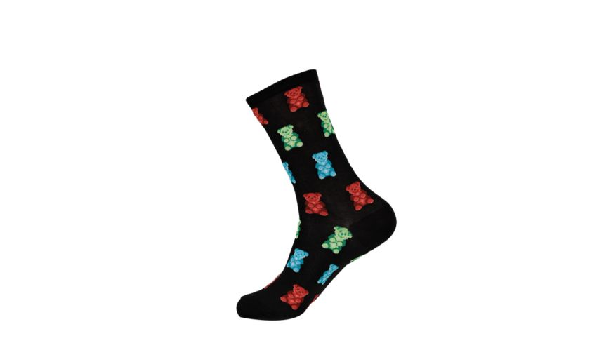 HOTSOX Damen Socken Gummy Bears blau