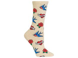 HOTSOX Damen Socken Old Tattoo