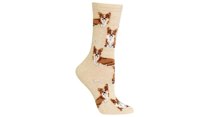 HOTSOX Damen Socken Corgies