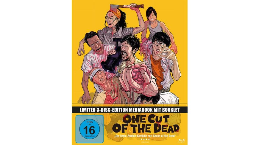 One Cut of the Dead Mediabook 2 DVDs