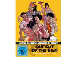 One Cut of the Dead Mediabook 2 DVDs