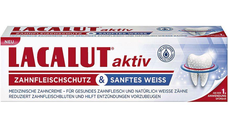 LACALUT Aktiv Zahnfleischschutz Sanftes Weiss Zahncreme