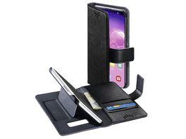 Booklet Stand Up fuer Samsung Galaxy S10 Schwarz