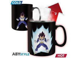 Dragon Ball Vegeta Thermoeffekt Tasse