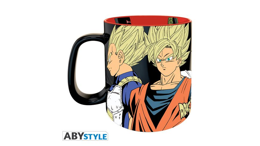 Dragon Ball Saiyans vs Cyborgs Tasse 460 ml