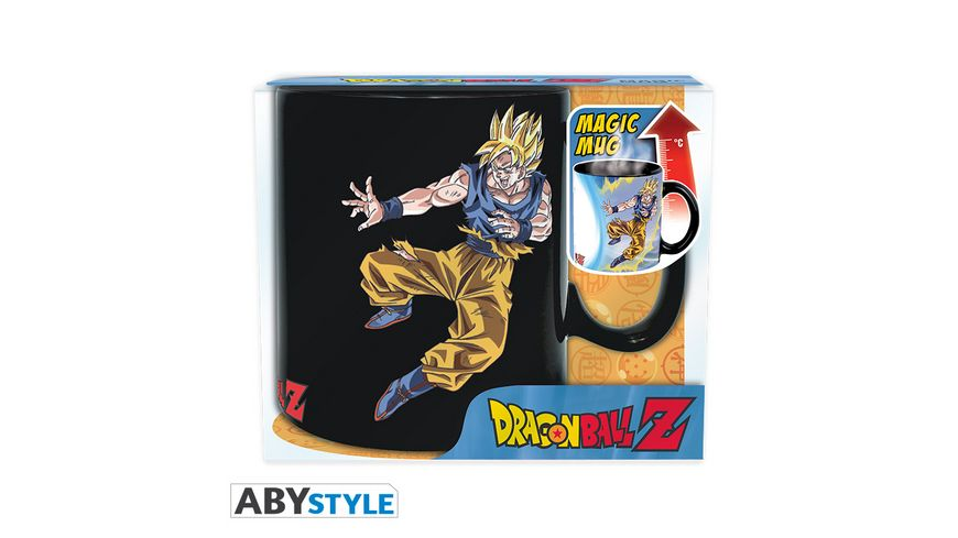 Dragonball Z Goku vs Buu Thermoeffektasse 460ml