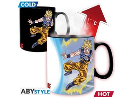 Dragonball Z Goku vs Buu Thermoeffektasse 460ml