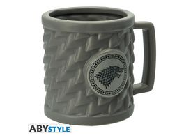 Game of Thrones Stark 3D Tasse
