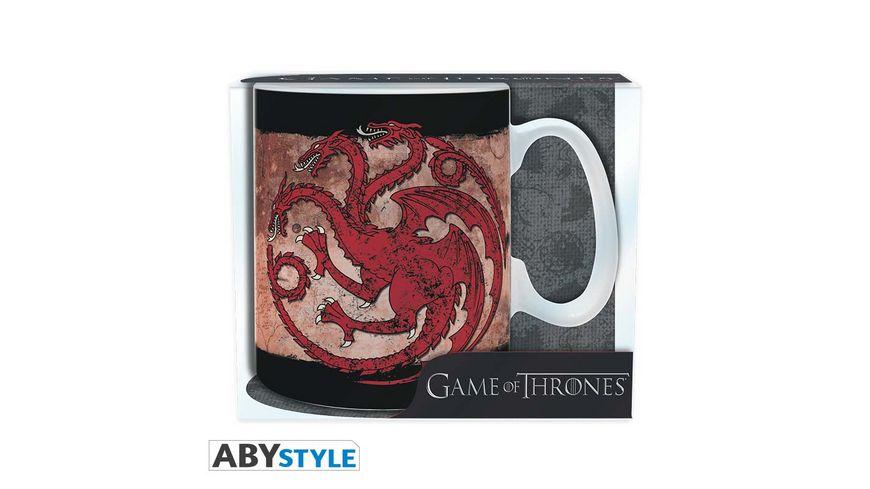 Game of Thrones Targaryen Tasse 460 ml