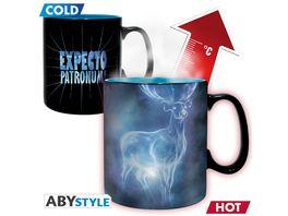 Harry Potter Patronus Thermoeffekt Tasse