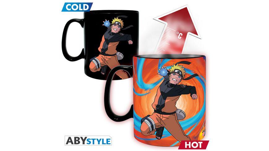 Naruto Shippuden Duel Thermoeffekttasse 460ml