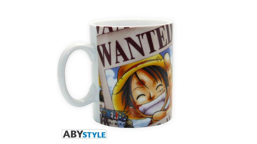 One Piece Luffy s Wanted Tasse 460 ml
