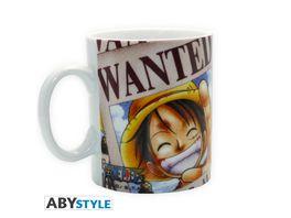 One Piece Luffy Wanted Tasse
