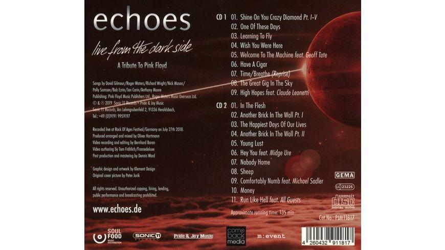 Live From The Dark Side 2CD Digipak